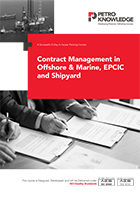 Contract Management in Offshore & Marine, EPCIC and Ship yard
