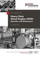 Heavy Duty Diesel Engine (HDD)  Operation and Maintenance