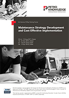 Maintenance Strategy Development  and Cost Effective Implementation