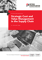 Strategic Cost and Value Management  in the Supply Chain
