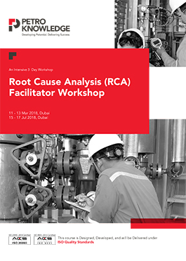 Root Cause Analysis (RCA) Facilitator Workshop
