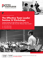 The Effective Team Leader  Seminar & Workshops