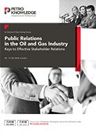 Public Relations in the Oil and Gas Industry