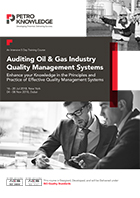 Auditing Oil & Gas Industry Quality Management Systems