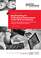 Benchmarking for Performance Improvement  in the Oil & Gas Industry