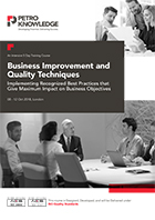 Business Improvement and Quality Techniques