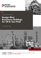 Designing of Blast Resistance Buildings  for Oil & Gas Plants