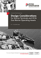 Design Considerations for Marine Terminals  and Oil & Gas Marine Operating Assets
