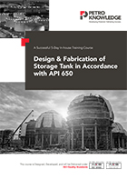 Design Fabrication of Storage Tank in Accordance with API 650