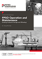 FPSO Operation and Maintenance  (Floating Production Storage and Offloading)