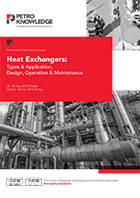 Heat Exchangers: Types & Application,  Design, Operation & Maintenance