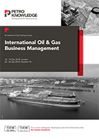 Certificate in International Oil & Gas Business Management