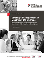 Strategic Management in  Upstream Oil and Gas