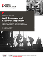 Well, Reservoir and Facility Management