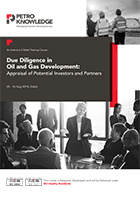 Due Diligence in  Oil and  Gas Development:  Appraisal of  Potential Investors and  Partners