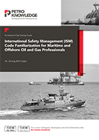 International Safety Management (ISM) Code Familiarization for Maritime and Offshore Oil and Gas Professionals