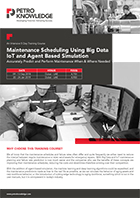 Maintenance Scheduling Using Big Data IoT and Agent Based Simulation