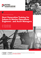 Next Generation Training for Subsea & Marine Operations Engineers and Asset Managers