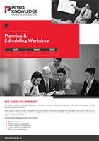 Planning & Scheduling Workshop