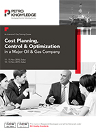 Cost Planning, Control & Optimization in a Major Oil & Gas Company