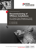 Decommissioning of Offshore Installations
