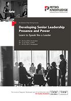 Developing Senior Leadership Presence and Power