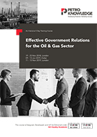 Effective Government Relations for the Oil & Gas Sector