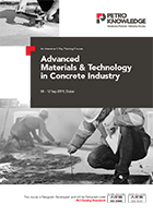 Advanced Materials &  Technology in  Concrete Industry