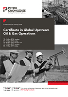 Certificate in  Global Upstream  Oil &  Gas Operations
