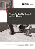 Concrete Quality Control on  Hot Climate