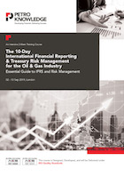 The 10-Day Training Course on International Financial Reporting  & Treasury Risk Management for the Oil & Gas Industry