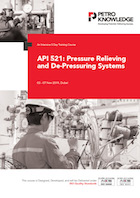 API 521: Pressure Relieving and De-Pressuring Systems
