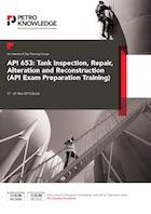 Api 653 Tank Inspection Repair Alteration