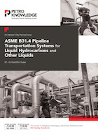 ASME B31.4 Pipeline Transportation Systems for Liquid Hydrocarbons and Other Liquids