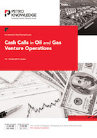 Cash Calls in Oil and Gas Venture Operations