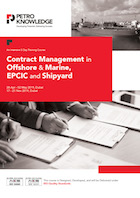 Contract Management in Offshore &  Marine, EPCIC and Shipyard