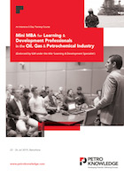Mini MBA for Learning & Development Professionals in the Oil, Gas & Petrochemical Industry