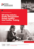 Oil & Gas Industry Quality Management System Auditor / Lead Auditor Training