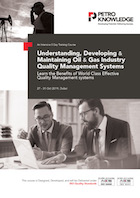 Understanding, Developing & Maintaining Oil & Gas Industry Quality Management Systems