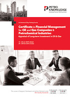 Certificate in Financial Management for Oil and Gas Companies & Petrochemical Industries