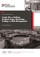 Crude Oil and Refined Products Sales, Marketing, Trading and Risk Management