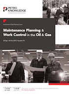Maintenance Planning & Work Control in the Oil & Gas