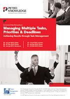 Managing Multiple Tasks, Priorities & Deadlines