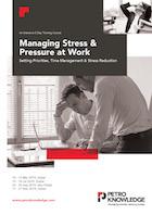 Managing Stress &  Pressure at Work