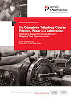 The Complete Tribology Course Friction, Wear and Lubrication