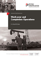 Work-over and Completion Operations