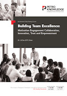 Building Team Excellence: Motivation Engagement Collaboration, Innovation, Trust and Empowerment