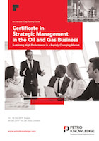 Certificate in  Strategic Management in the  Oil &  Gas Business