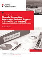 Financial Accounting,   Reporting & Business Support  in the  Oil and Gas Industry