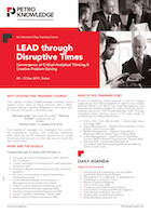 LEAD through Disruptive Times